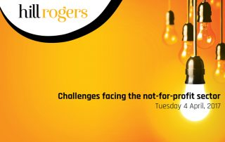 Challenges facing the not for profit event image