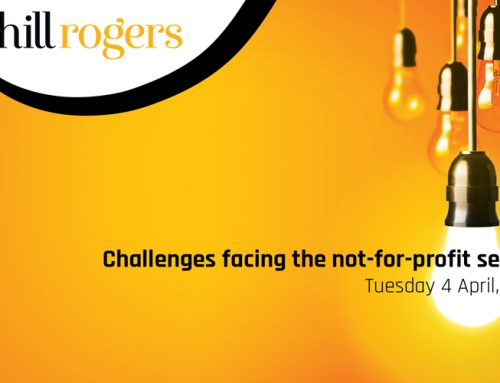 TWILIGHT SEMINAR – Challenges facing the Not-For-Profit Sector