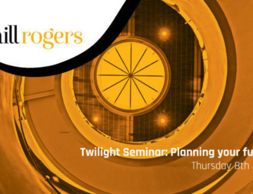 TWILIGHT SEMINAR – Planning Your Future
