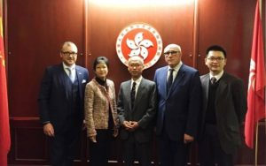 Hill Rogers welcomes Hong Kong business delegation